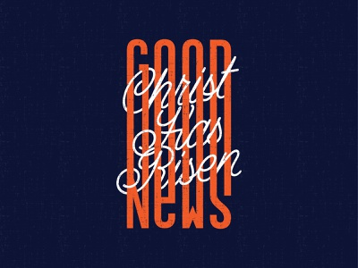 Good News type tshirt designer graphic designer gospel lettering typography tshirt design tees church christ risen good news christian jesus