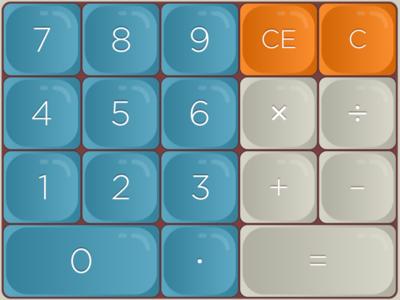Daily UI #004 - Calculator calculator 004 daily ui