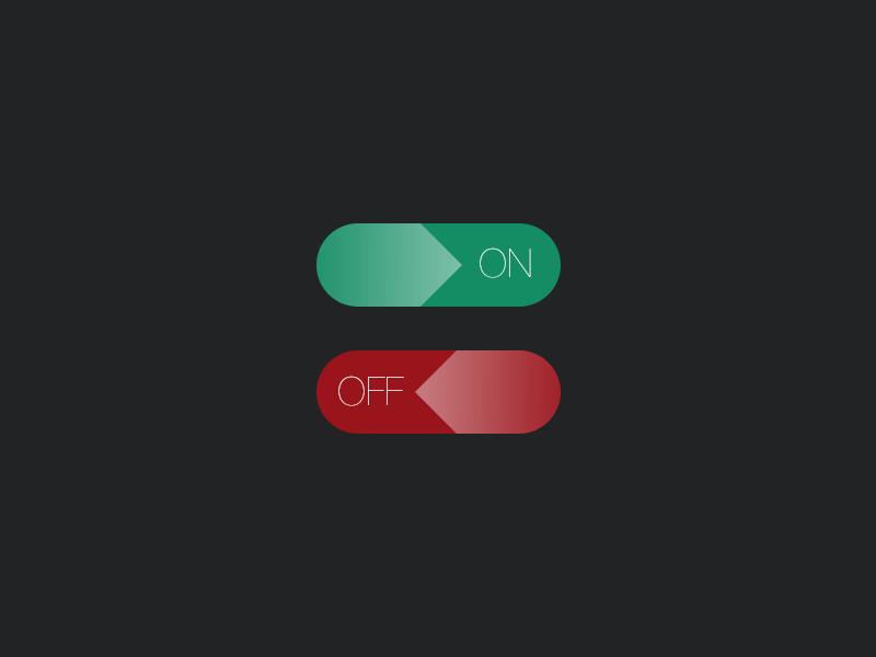 Daily UI #015 - On/Off Switch 015 daily ui on off switch