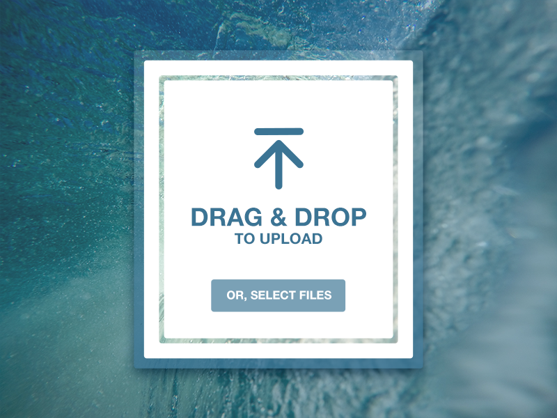Daily UI #031 - File Upload drag and drop upload file 031 daily ui