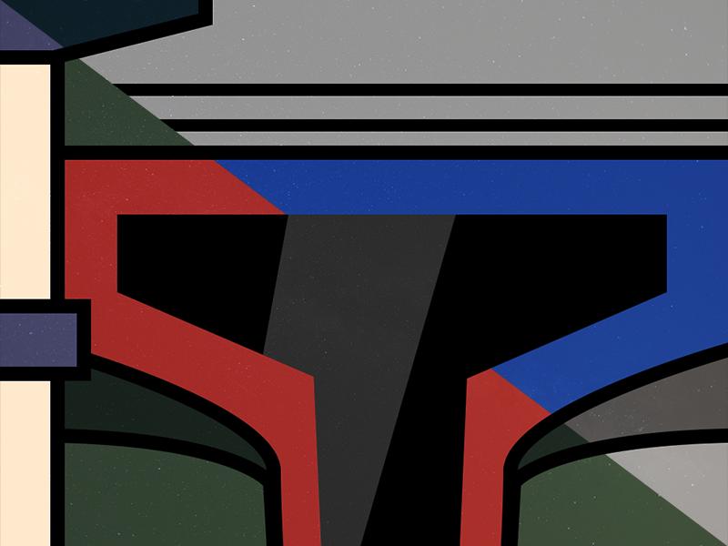 Father & Son illustration vector jango fett boba fett star wars