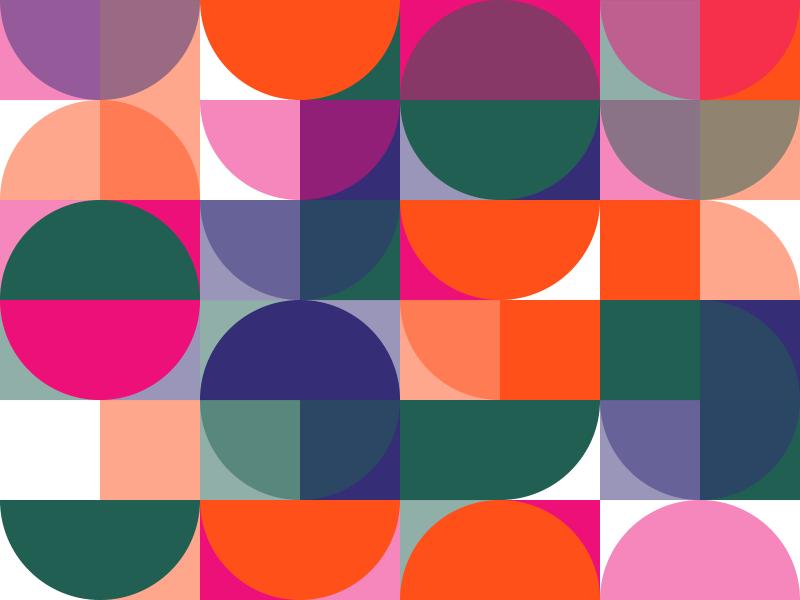 Pattern Play colors circles pattern