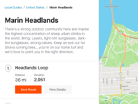 Strava City Guide navigation breadcrumbs route save route guide maps