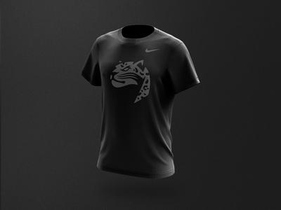 Caen Floorball - Men t-shirt branding design vector illustration floorball team logo sports logo mascot sports branding