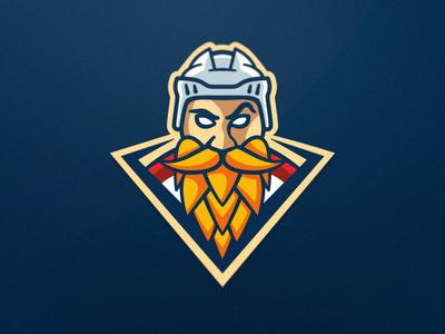 Brasseurs - Roller Hockey - Mascot Logo logo design illustration roller hockey inline hockey hockey mascot team logo sports logo sports branding