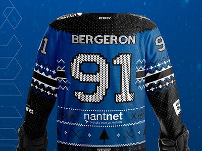 Corsaires de Nantes - Winter Jersey sports christmas winter jersey ice hockey