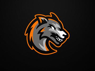 Loups Lorrains - Floorball - Mascot logo logo floorball mascot team logo sports logo sports branding