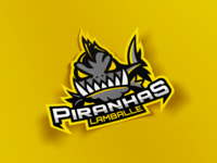 Piranhas - Roller hockey - Alternative logo