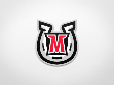 Mustangs - Roller Hockey - Logo 2 vector uniform typography sports logo sports branding mascot jersey roller hockey inline hockey illustration ice hockey hockey design branding