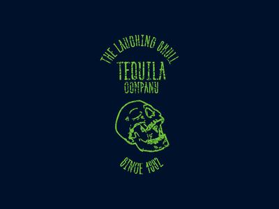 The Laughing Skull Tequila photoshop digital art creation illustrator adobe graphic  design vector branding design logo