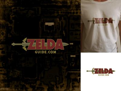 Zelda Guide legendsofzelda zelda photoshop vector graphic  design illustrator logo design logocore 30 day challenge
