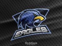 Eagles Logo - Sports Top Mock Up
