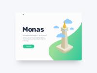 Daily UI 03 - Monas