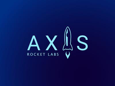 #dailylogochallenge Day 1 - Axis Rocket Labs dailylogochallenge branding logo rocket