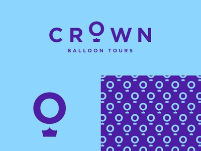 #dailylogochallenge Day 2 - Crown Balloon Tours