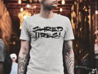 Shred Tires tee