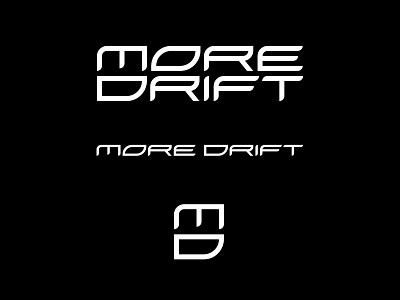 New More Drift Logo brand monogram logotype katakana branding logo moredrift