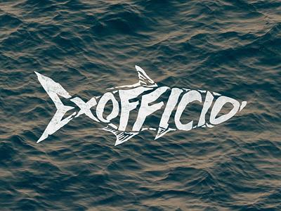 Exofficio Tarpon 🐟 graphicdesigner graphicdesign graphic water exofficio fishing typography apparel illustration letteringdesign lettering fish tarpon