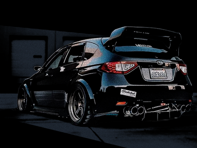 Subaru STi Exploration texture grainy drawing illustration car sti subaru
