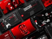 Henrikh Mkhitaryan - Website Stylescape