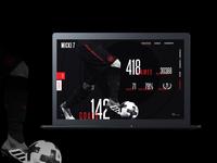 Henrikh Mkhitaryan Website Design