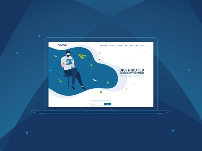 Arcnet Branding and UX/UI Design blockchaintechnology illustration logo web design website branding agency uiux branding