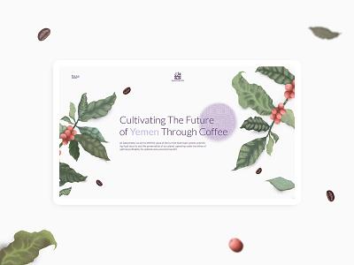 Sabcomeed Website Design creative purple minimal illustration coffee ui design layout uiux website web design