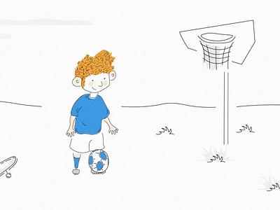 UEFA Champions League is back :) football club illustration animation champions league balls shots european football eufa