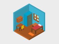 Isometric Room