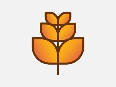 Wheat icon design