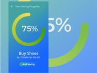 Saving App UI