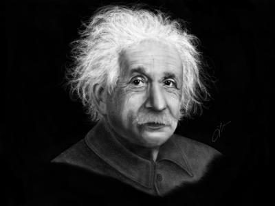 Einstein - Digital Illustration