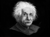 Einstein - Digital Illustration