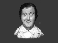 Andy Kaufman - Digital Illustration