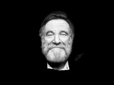 Robin Williams - Digital Illustration
