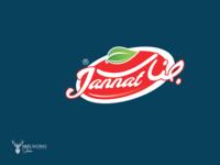 Jannat  | juice logo