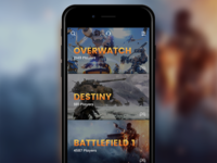 Looking for Players App