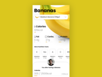 Nutrition Facts Demo App (RNS003)