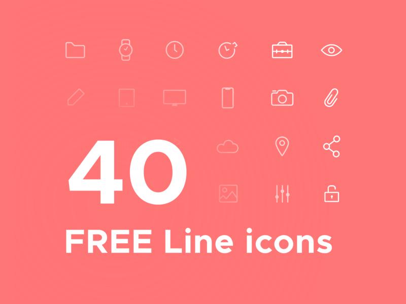 Free Icons design minimal line icon design iconography icons pack icons set icon set icon illustrator sketch freebie free