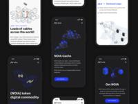 Mobile responsive website for NOIA