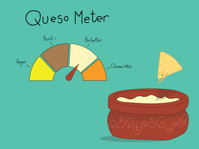 Cheese Dive vegan chip tortilla meter queso cheese