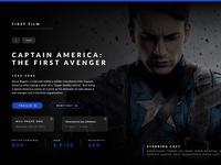 Captain America Landing Page v2