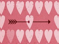 Arrow & Heart (part of the poster)