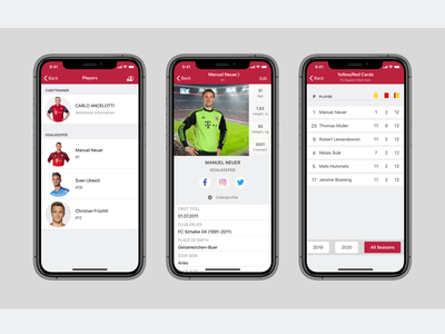 IOS APP for Football Trainers managment sport football app ui application mobile app native mobile mobile design app user experience