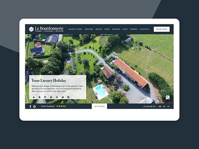 UI, IxD, Redesign for Holiday Rental Cottages Website cottage rent uidesign booking app travel holiday rental interaction webdesign redesign ux ui