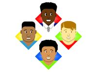 Character avatars