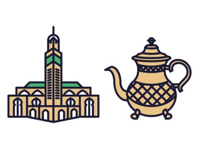 Morocco Icons