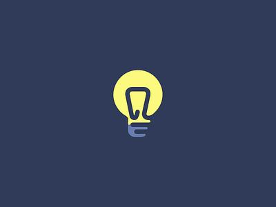 One day - one icon. one day one icon icon artwork work in progress icon a day design icon design warm light bulb adobe illustrator vector illustration set icon