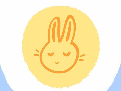 Easter greetings! lvlayart art egg yolk yellow card greetings sunday holiday easter icon design color cute logo cartoon bright adobe illustrator vector illustration