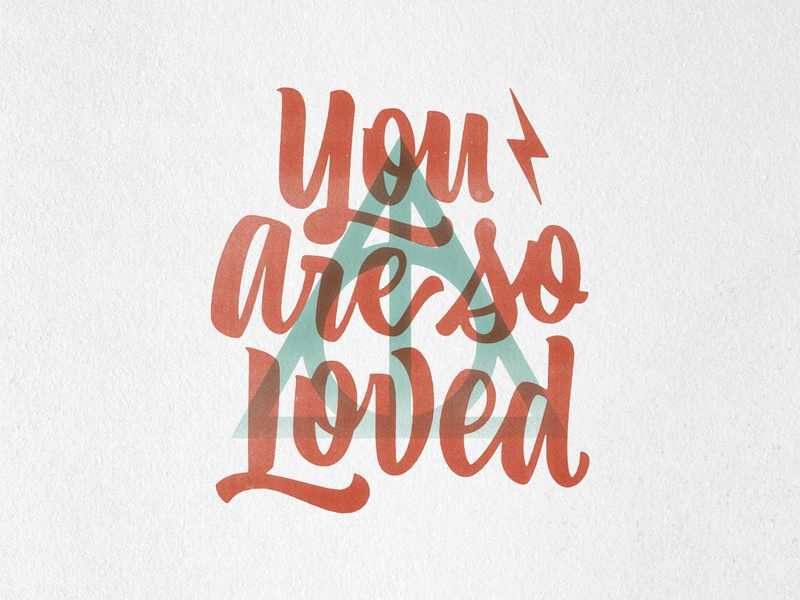 You are so loved. typespire typism typematters typegang typebytrade theletteringcontinues screenprint overprint lettering harrypotter handmade handlettering goodtype